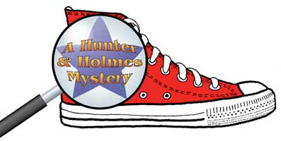 red hunter & holmes shoe logo